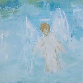 Heavenly angel child by Jennifer Nease