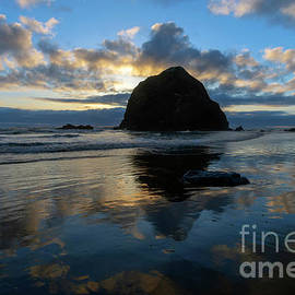 Heavens Reflected by Mike Dawson