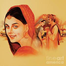 Heer Ranjha by Gurdish Pannu
