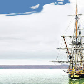 Hermione Frigate Panorama by Weston Westmoreland