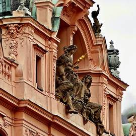 High Above Prague by Ira Shander