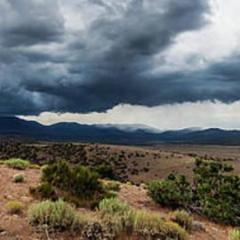 High Desert Storm Panorama