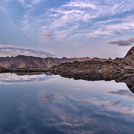 High Mountain Calm and Quiet by Leland D Howard