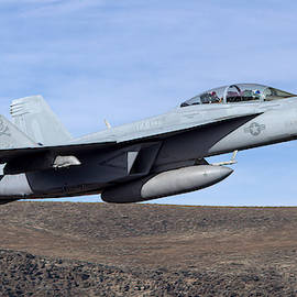 High Speed Pass - F/A18 Super Hornet from the VFA-103 Jolly Rogers by James Anderson
