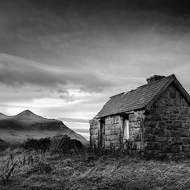 Highland Cottage 2 by Dave Bowman