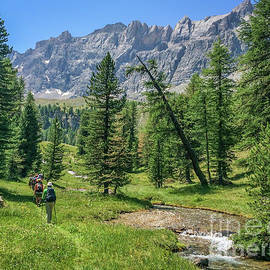 Hiking in Queyras by Delphimages Photo Creations