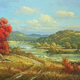 Hill Country Autumn by George Kovach