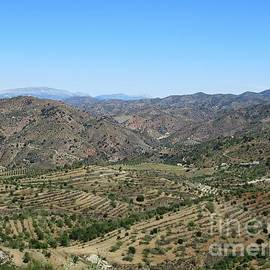 Hills Near Pizarra by Chani Demuijlder