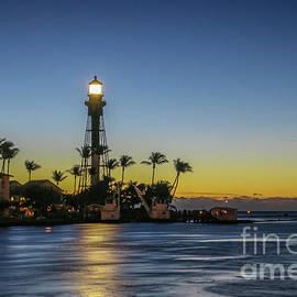 Hillsboro Light Reflection by Tom Claud