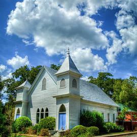 Historic Church Watkinsville Georgia Art by Reid Callaway