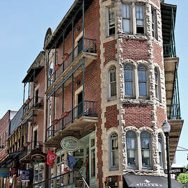 Historic Downtown Eureka Springs Street Scenes 8 by John Trommer