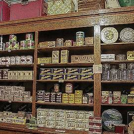 Historic General Store Merchandise Foodstuffs by Marlin and Laura Hum