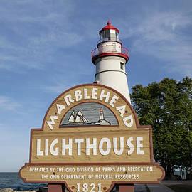 Historic Marblehead Lighthouse by Ann Horn