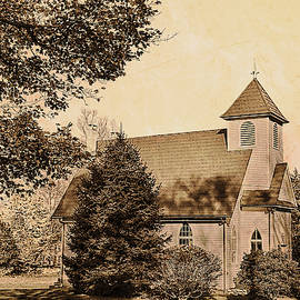 Historic Merryall Chapel, New Milford CT by Andrea Swiedler