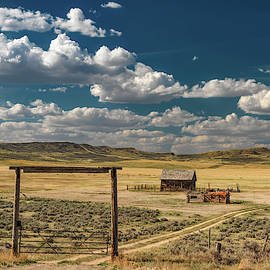 Historical Rural Montana by Leland D Howard
