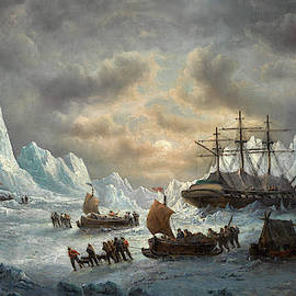Francois Musin - HMS Resolute in Search of Sir John Franklin