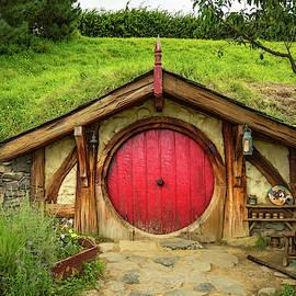 Hobbit House - Red Door by Racheal Christian