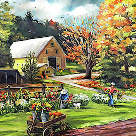 Nancy Griswold - Hodges Farm in Fairlee Vermont