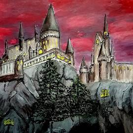 Hogwarts Castle by Irving Starr