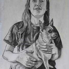 Holding My Poo Bear by Patty Strubinger