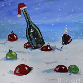 Holiday Cheer At The Vineyards by Jan Dappen