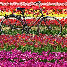 Holland Ridge Tulip Farm # 4 by Allen Beatty