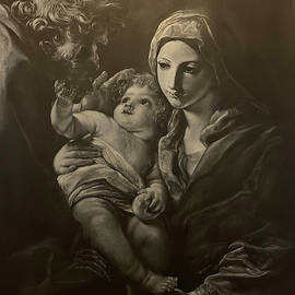 Holy Family by Ust Art