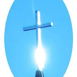 Holy Ghost Cross Impression by Delynn Addams