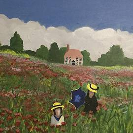 Homage to Claude Monet by Mike King