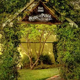 Home Of Peace Arbor Entry, Oakland, California by Brian Tada