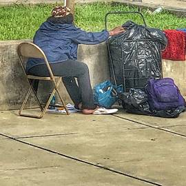 Homeless in Paterson NJ by William Rogers