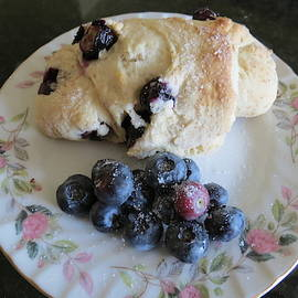 Homemade Blueberry Scones by Kay Novy