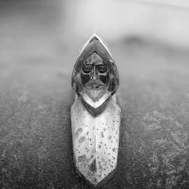 Hood ornament by Murray Rudd