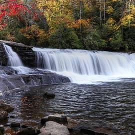 Hooker Falls During Autumn 2019  by Carol Montoya