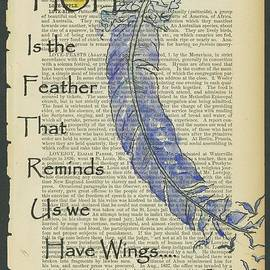 Hope Gives Us Wings by Maria Hunt