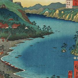 Horie Kanzanji, 19th century by Utagawa Hiroshige
