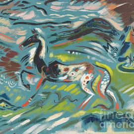 Horse, Circa 1940 by Arnold Peter Weisz-Kubincan