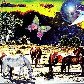 Horse Heaven by Hartmut Jager