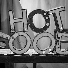 Hot Food Bw by David Gordon
