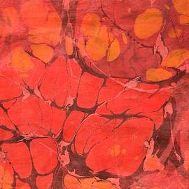 Hot Lava marble, horizontal by Rose Wark