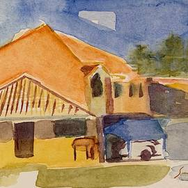 House Across The Way by Suzanne Cerny