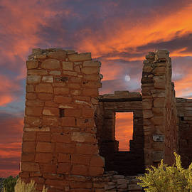 Hovenweep Moon by Kathleen Bishop
