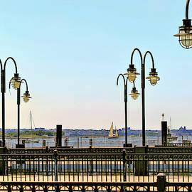 Hudson Harbor by Geraldine Scull