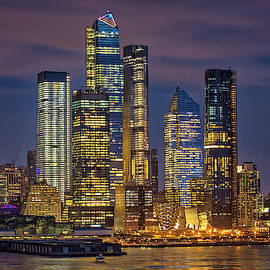 Hudson Yards NYC Skyline by Susan Candelario