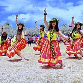 Hula For Mauna Kea by Craig Wood