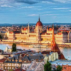 Hungarian Parliament Building by Karen Regan