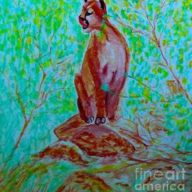 Hungry Mountain Lion by Stanley Morganstein