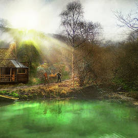 Hunter - The Summer Cabin by Mike Savad