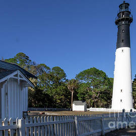 Hunting Island Lighthouse by Norma Brandsberg