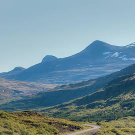 Hvalfjordur - Mountain Road 1004 by Kristina Rinell